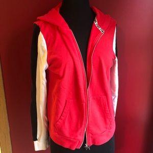 PINK Victoria's Secret Tops - Pink Victoria's Secret red hoodie